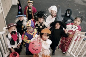 The Children At Best Childcare on Halloween 2010